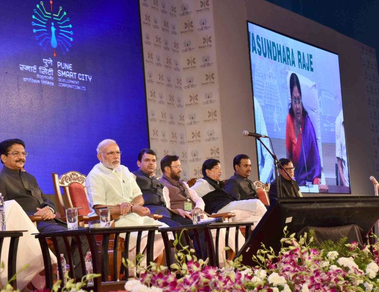 PM Narendra Modi speech at Pune – Smart Cities Project Launch in Pune