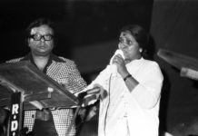 R D Burman and Asha Bhosle