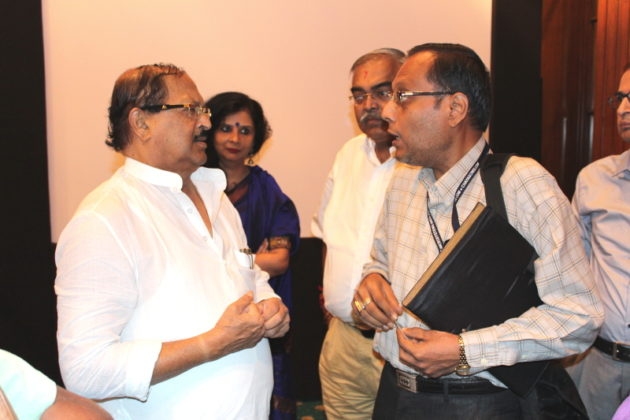 Subrata Mukherjee with IBG NEWS Chief Editor Suman Munshi
