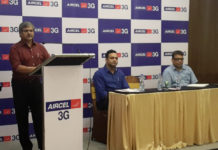 Anil Gupta, Regional Manager – East, Aircel announcing 1GB for All.