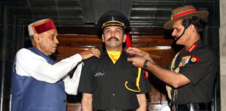 Anurag Thakur - Joins Army