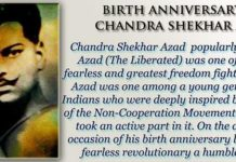 Chandra Shekhar Azad - Freedom Fighter