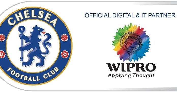 Chelsea Football Club-Wipro-LAND-CS6 Logo