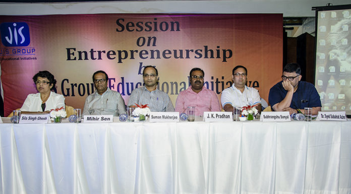 Entrepreneurship session by JIS Group