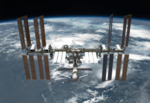 International Space Station - After Undocking