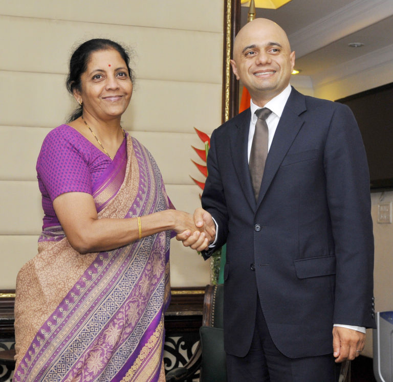 Indo British Business Meet – Commerce & Industry Minister and Secretary of State for Business, Innovation and Skills, UK meets
