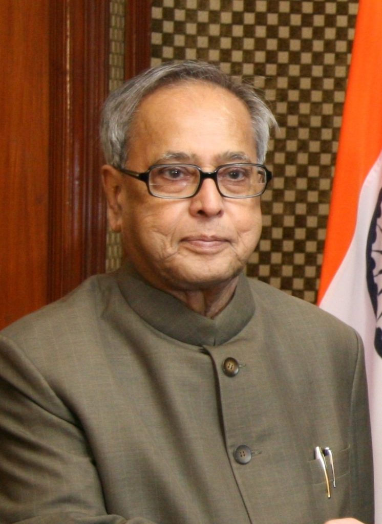 President of India - Pranab Mukherjee