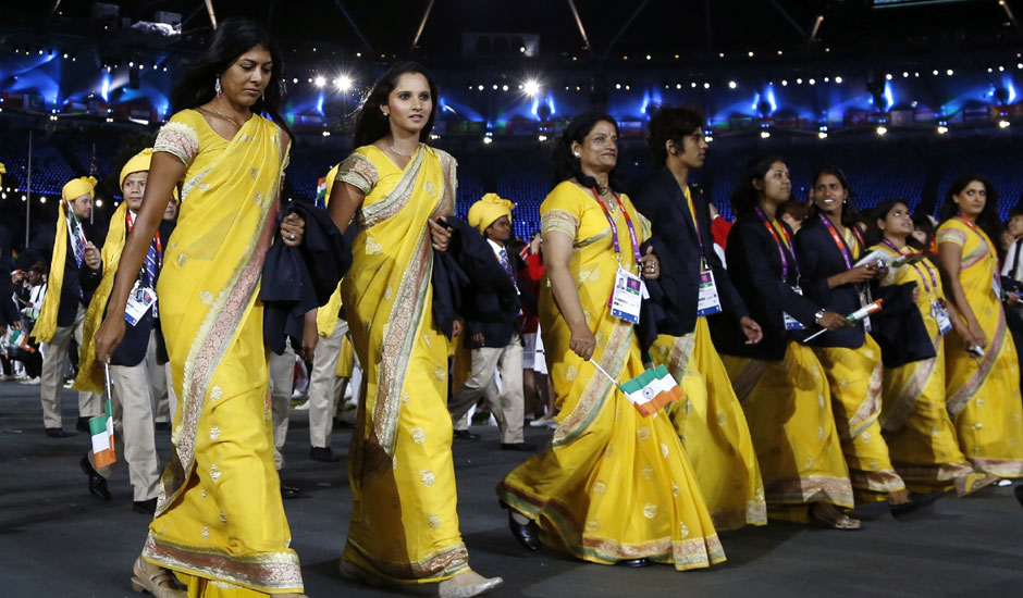 Rio Olympics 2016 - Dress for India