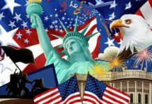 USA Independence Day - 4th July