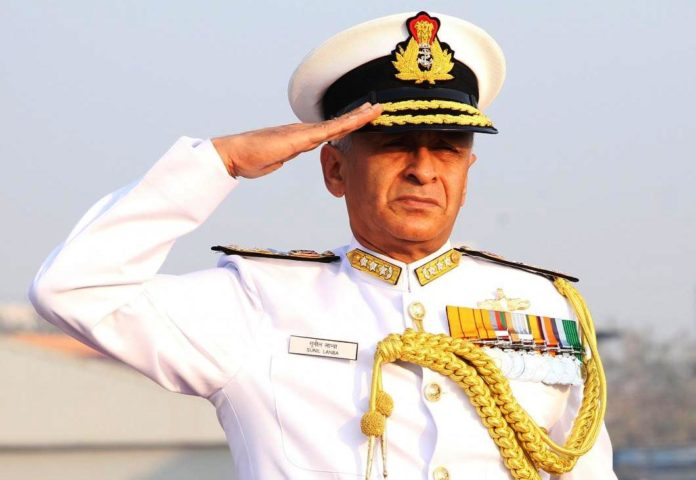 Admiral Sunil Lanba, Chief of the Naval Staff - Indian Navy