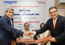 Auto Shreding of Steel - India Joint Venture