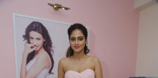 Nusrat Jahan while inaugurating Lomasi .