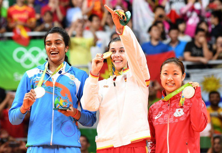 Jai Hind  – Sindhu wins Badminton Silver Medal – PV Sindhu sets silver lining for India in RIO Olympics 2016