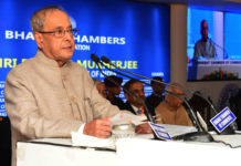 President Pranab Mukherjee - Bharat Chamber of Commerce
