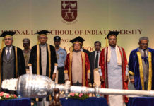 President Pranab Mukherjee - Law Convocation at Karnataka
