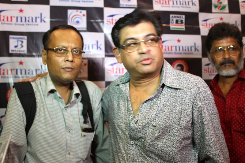Amit Kumar,IBG News Chief Editor in cd release of Amit Kumar