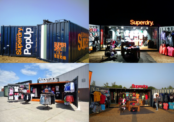 Superdry 'Pop Up's