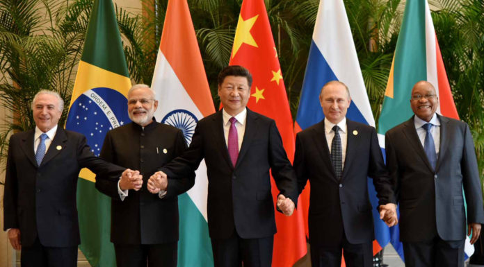 Prime Minister Modi - At BRICS Leaders Meet China