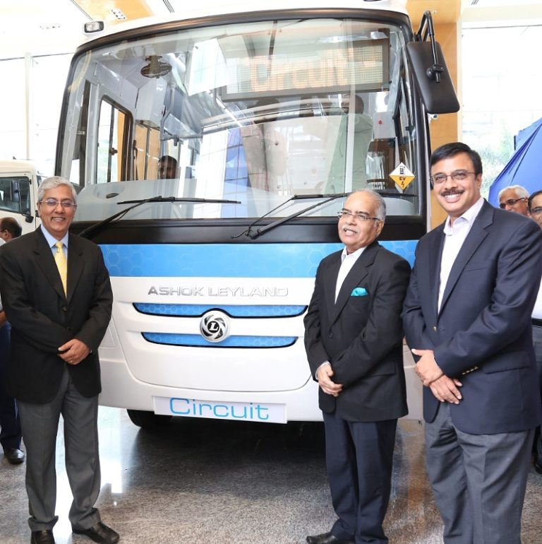 Ashok Leyland Launches 'Circuit' Series – First Electric Bus Made in India