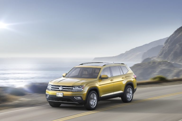 Volkswagen Unveils The 2018 Atlas, An All-New Seven-Passenger SUV Built In America For The Modern American Family
