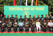 67th Anniversary of the Territorial Army Day Parade