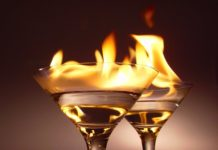 Liquor On Fire