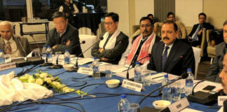 The Minister of State for Development of North Eastern Region (I/C), Prime Minister's Office, Personnel, Public Grievances & Pensions, Atomic Energy and Space, Dr. Jitendra Singh addressing an interactive programme of Members of Parliament from Northeast and representatives of trade organisations, in New Delhi on December 15, 2016.