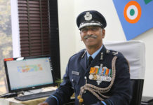 Air Marshal C. Harikumar, takes over as the Air Officer Commanding in Chief, Western Air Command, in New Delhi on January 01, 2017.