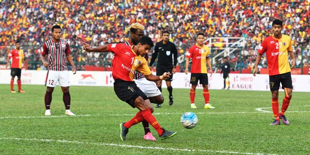 East Bengal and Mohun Bagan - ILeague 2017
