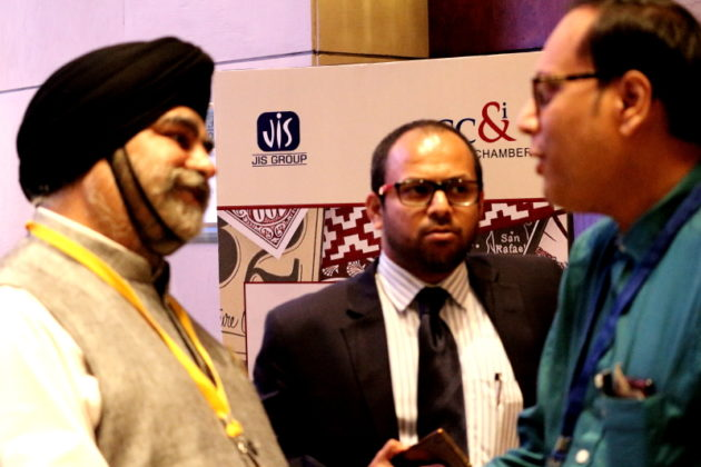 Sardar Taranjit Singh MD JIS Group with Suman Munshi Chief Editor IBG NEWS