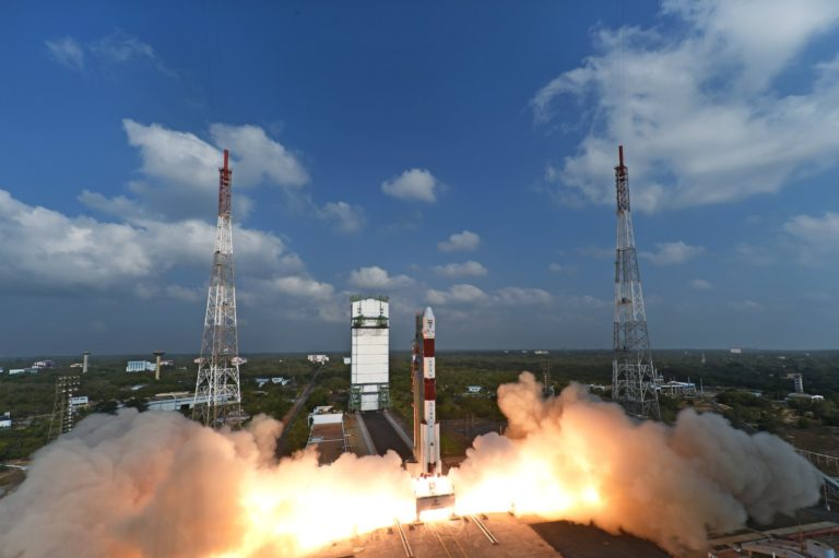 PSLV-C45 successfully launches EMISAT and 28 customer satellites