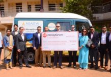 MoneyGram hosted an event in Mumbai to mark a fourth-year grant to the Agastya International Foundation from the MoneyGram Foundation for $60,000 to continue funding three mobile science labs in India.