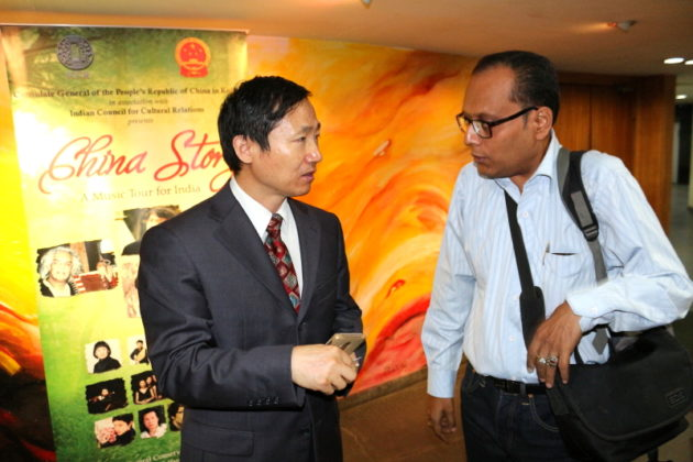 Chinese Consulate General at Kolkata along with Suman Munshi Chief Editor IBG NEWS