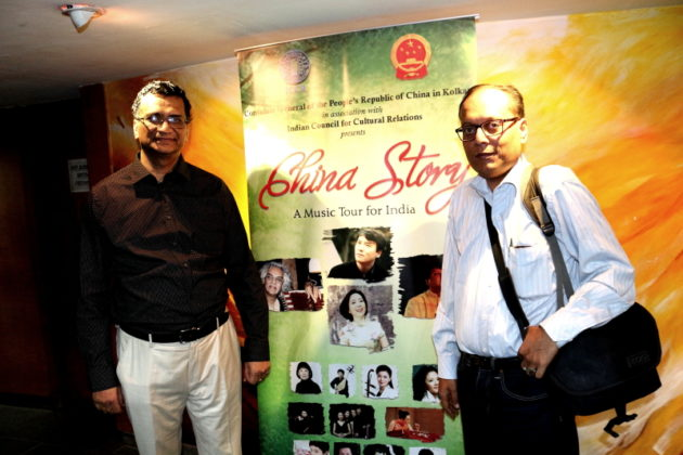 Director ICCR Kolkata with Suman Munshi Chief Editor IBG NEWS