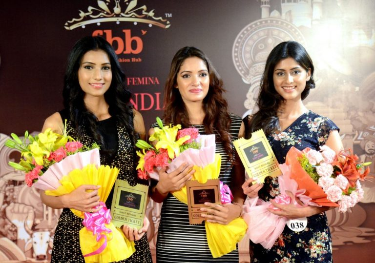 Miss India 2017 GOLDEN TICKET for West Bengal, Sikkim and Arunachal Pradesh girls at the fbb Colors Femina Miss India 2017