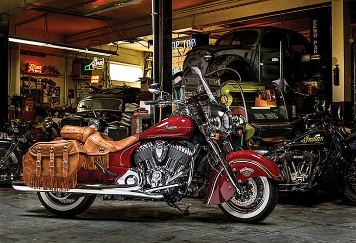 Indian Motorcycle Introduces Limited Edition Jack Daniel's Indian Chieftain