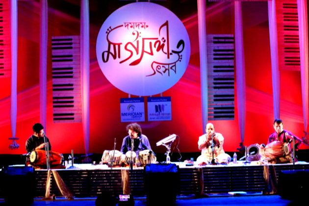 Bikram Ghosh and Team - Drums of India