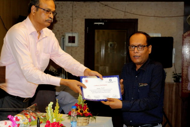 Digital Journalism Award to Suman Munshi- Press Club Kolkata