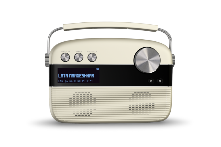 Saregama Carvaan a journey with the time machine : Digital audio player with pre-loaded 5000 retro songs