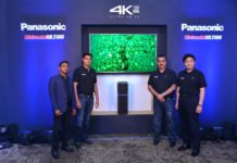 Panasonic launches new 4K UHD TV and UA7 Sound System