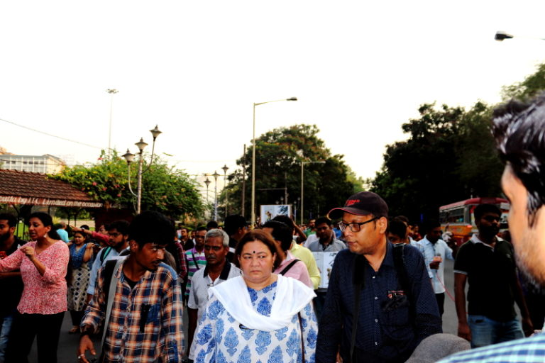 A walk for life,self respect and pride – Media moves for Media, Kolkata became epicentre of the movement