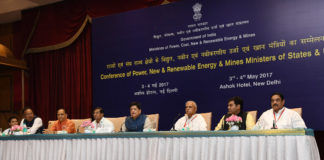 The Minister of State for Power, Coal, New and Renewable Energy and Mines (Independent Charge), Shri Piyush Goyal addressing the media on the outcomes of the States Power Ministers/UTs Conference, in New Delhi on May 04, 2017.