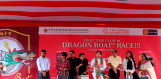 Dragon Boat Race 2017 - China Town Kolkata