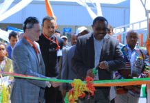 Inauguration- Raymond Ethiopia Garment Manufacturing Unit - Mr. Gautam Hari Singhania, CMD Ltd with Prime Minister of Ethiopia Mr. Hailemariam Desalegn