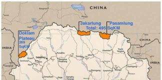Chinese steps in to Bhutan - Doklam Region