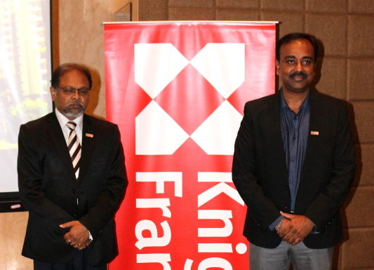 Knight Frank - Kolkata Press Meet