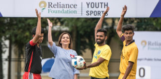 Opening Ceremony of Relaince Foundation Youth Sports-(RFYS) 2017