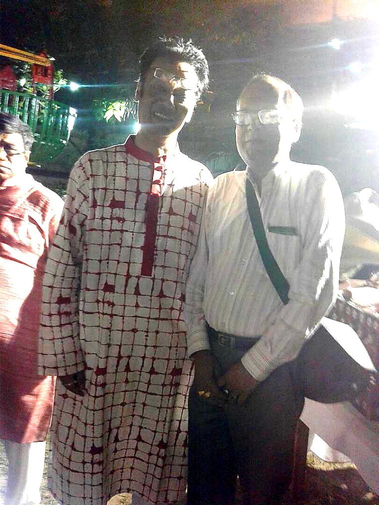 Suman Munshi with Zokey Ahad His Excellancy Deputy High Commision Bangladesh