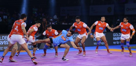 Haryana Steelers beat Bengal Warriors 36-29