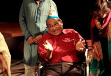 """Mastermoshai"", a play by The Red Curtain was staged by SSWB on Sep 5, 2016"